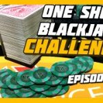 MERRY CHRISTMAS! One Shoe Blackjack Challenge   Episode 14
