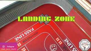 CRAPS HOW TO LEARN LANDING ZONE  /KING DICE