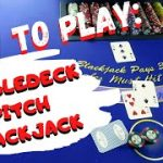 How To Play: Doubledeck Pitch Blackjack