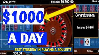 Roulette Strategy To Win Best Roulette Strategy