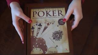 ASMR Poker Lesson * Tapping * Unpackaging * Whispers