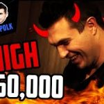 NEGREANU vs POLK | $160,000 with 8 HIGH?! in the High Stakes Feud