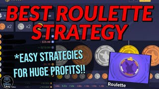 ROOBET ROULETTE STRATEGIES FOR EVERYONE! (SILVER, BRONZE, AND GOLD)