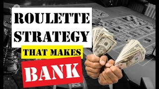ROULETTE STRATEGY to WIN | Inside bets | Roulette Strategy to WIN and MAKE big MONEY