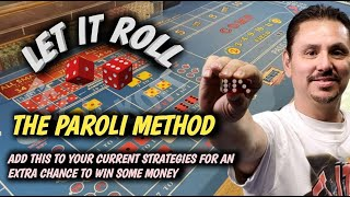 Craps Strategy – THE PAROLI METHOD to try to win at craps – $5, $10, $15 OR $25 TABLE.