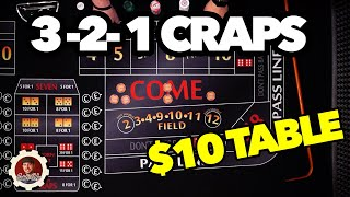 Best Low Roller Craps System | $10 Tables