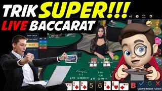 TRIK SUPERRRR! Main Baccarat Online WM Casino | MAS BIMO | Live Casino