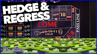 Hedge and Regress for the Win | Craps Strategy