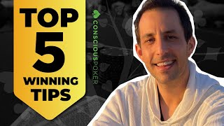 The 5 best tips to win at poker in 2021 | [Texas Holdem Tips and Strategies]