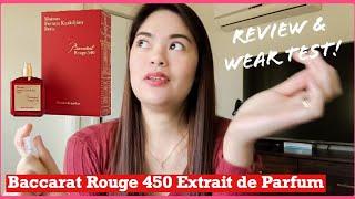 Baccarat Rouge 540 Extrait de Parfum First impression | Review | Wear test #baccaratrougeextraite