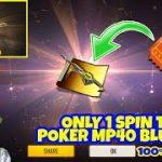 Poker MP40 Blueprint Trick || Only One Spin Trick || Flashing Spade Incubator Blueprint Trick || BGF