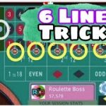 How Cover & Control 6 Line on Roulette