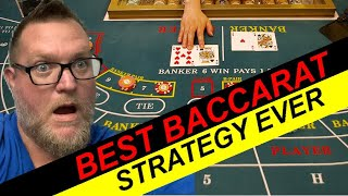 BACCARAT STRATEGY THAT WINS GUARANTEED 100%