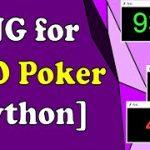 GTO Poker Strategy – Random Number Generator Program [Link in Description]