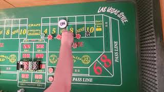 Craps strategy! Big Regression, why it's good and bad!