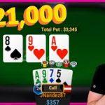 I JUST WON $21,000 PLAYING POT LIMIT OMAHA CASH GAMES!