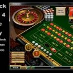 Roulette strategy with the 1, 3, 2, 4 numbers sequence.