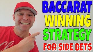 "Baccarat Strategy For Side Bets- Christopher Mitchell Reveals The ""BEST"" Side Bets To Play."