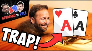 NEGREANU vs POLK | TRAPPING in the High Stakes Feud