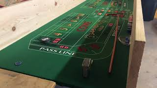 How I built my practice craps table