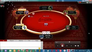Poker Holdem 6 + Plus (88 vs AK) All in