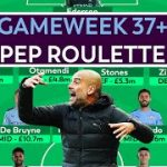 FPL: GAMEWEEK 37+ PEP ROULETTE! | PREDICTED MAN CITY LINEUP | FANTASY PREMIER LEAGUE TIPS 2019/2020