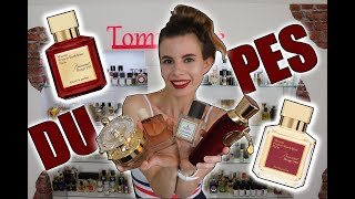 MY COLLECTION OF BACCARAT ROUGE 540 DUPES | Tommelise