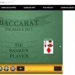 Baccarat Wining Strategy 1/12/18