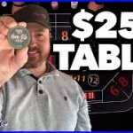 $25 Table Craps Strategy