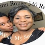 Baccarat Rouge 540 Review With My Son