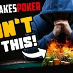 HIGH STAKES POKER | DON'T make this MISTAKE