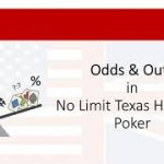 Odds and Outs 🔎 in No Limit Texas Hold'em Poker 💰 | tutorial, explanation, application and examples