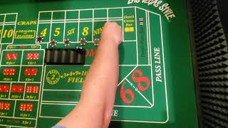 Craps strategy one don't and go part 2