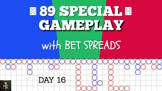 Day 16 | DEBUT of 89 SPECIAL Baccarat Strategy!