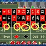 95% Plus Winning Strategy Ever To Roulette | Trick to  30 Numbers Win at Roulette