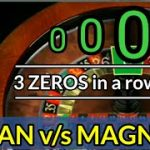 MAN V/S MAGNET  Never loose again strategy  Understanding Roulette system  #AutoRoulette