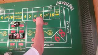 craps strategy anything but 10 with a little twist.