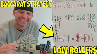 Christopher Mitchell Baccarat Winning Strategy For Low Rollers- Press Your Bet.
