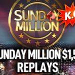 Final Table $109 Sunday Million KO🥊 $1,5M GTD Poker Replays