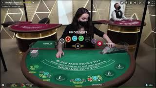 De l'endormissement à la folie – Session blackjack en ligne