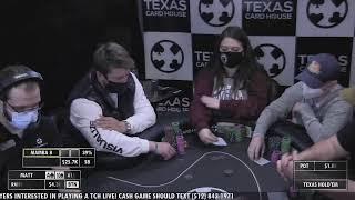 TCH Live – 1/25/2021 – $5/$10 No Limit Hold 'Em Cash Game