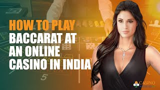 Tutorial on How to Play Baccarat Online | CasinoWebsites.in