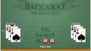 Practice Baccarat going from Shoe to Shoe