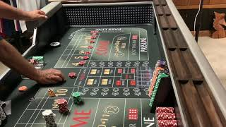 Craps Hawaii — ENJOY the OPTIONS of the $160 Across (Session 2 of 2) Continued