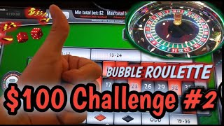 ROULETTE – $100 Challenge #2 – Century Casino – Come hang out and have some fun with us!