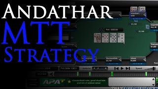 Andathar Reviews His Poker Strategy For A $200 MTT
