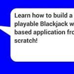 JavaScript HTML Game from Scratch Blackjack – learn JavaScript