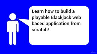 JavaScript HTML Game from Scratch Blackjack – learn JavaScript
