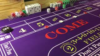 Craps – Double Tap Strategy