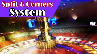 split and corners playing system to roulette